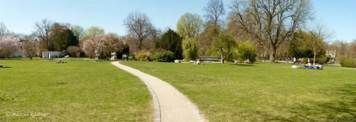 Stadtpark in Nürnberg